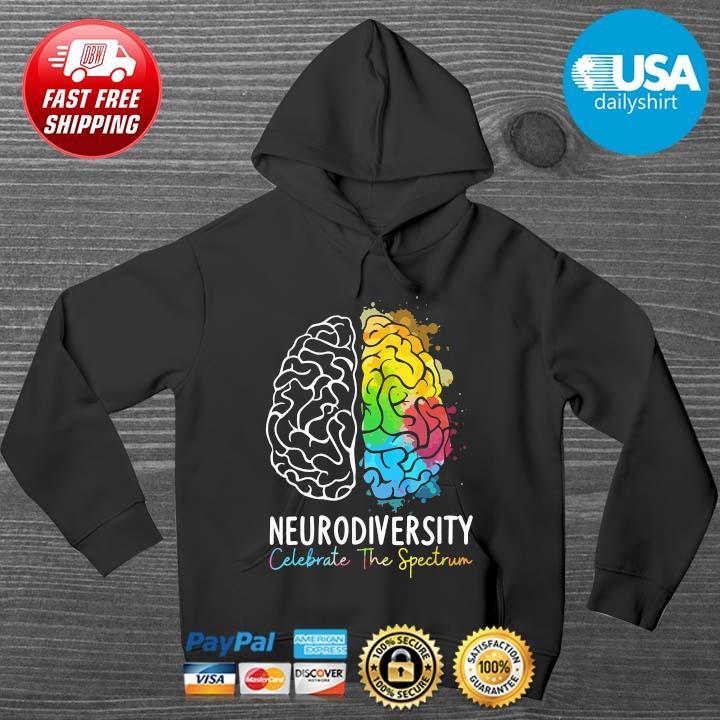 Neurodiversity celebration the spectrum color HOODIE DENS