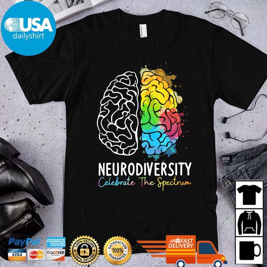 Neurodiversity celebration the spectrum color shirt