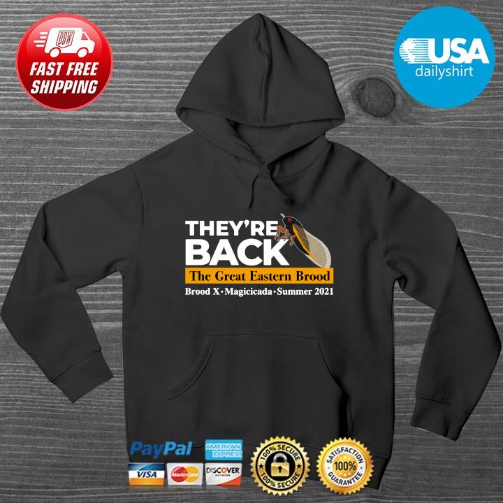 They're back the great eastern brood HOODIE DENS