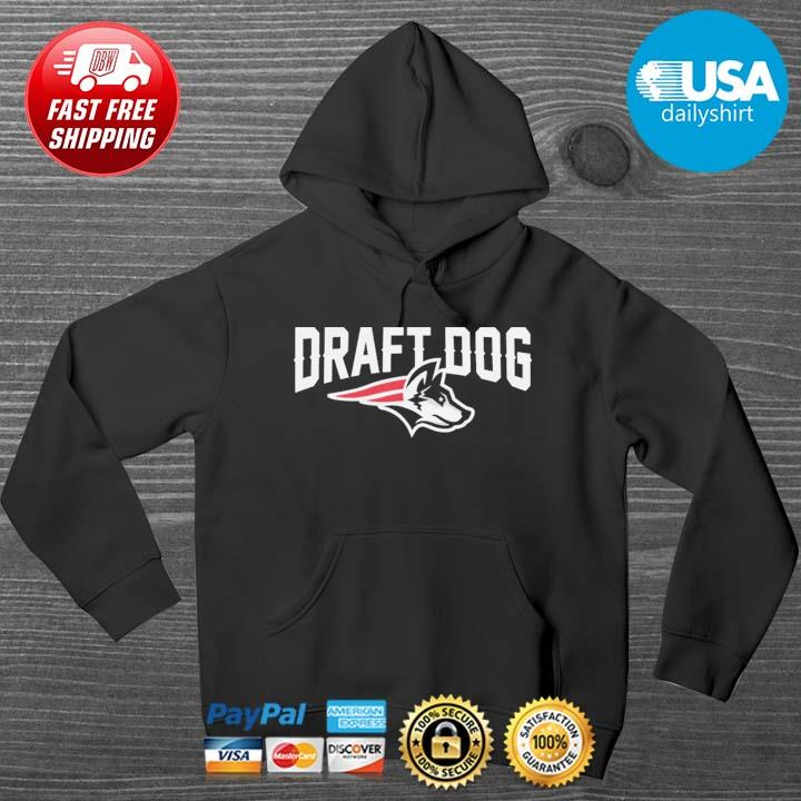 Draft Dog New England Football Shirt HOODIE DENS