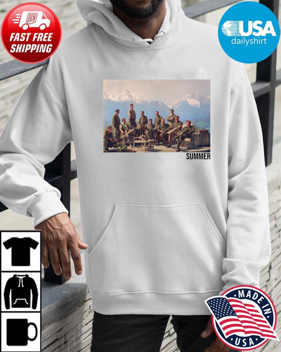 Easy Company Summer Shirt Hoodie trangs