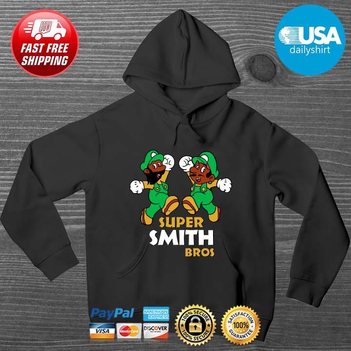 Super Mario Super Smith Bros Shirt HOODIE DENS