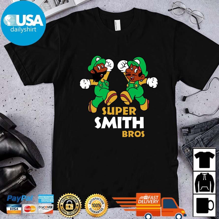 Super Mario Super Smith Bros Shirt
