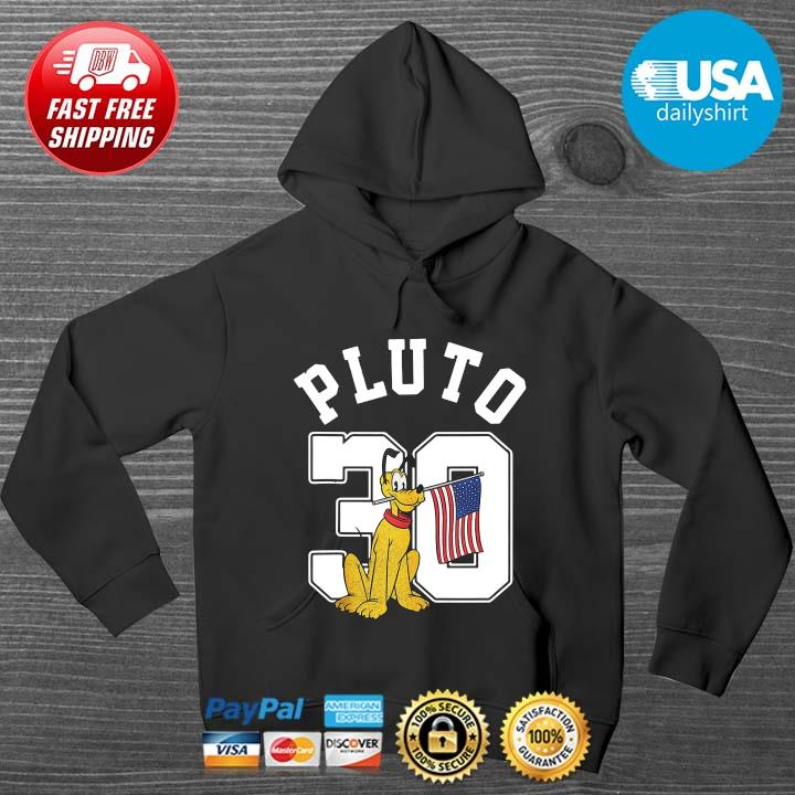 Mickey And Friends Pluto 30 Pullover 4th Of July Shirt HOODIE DENS