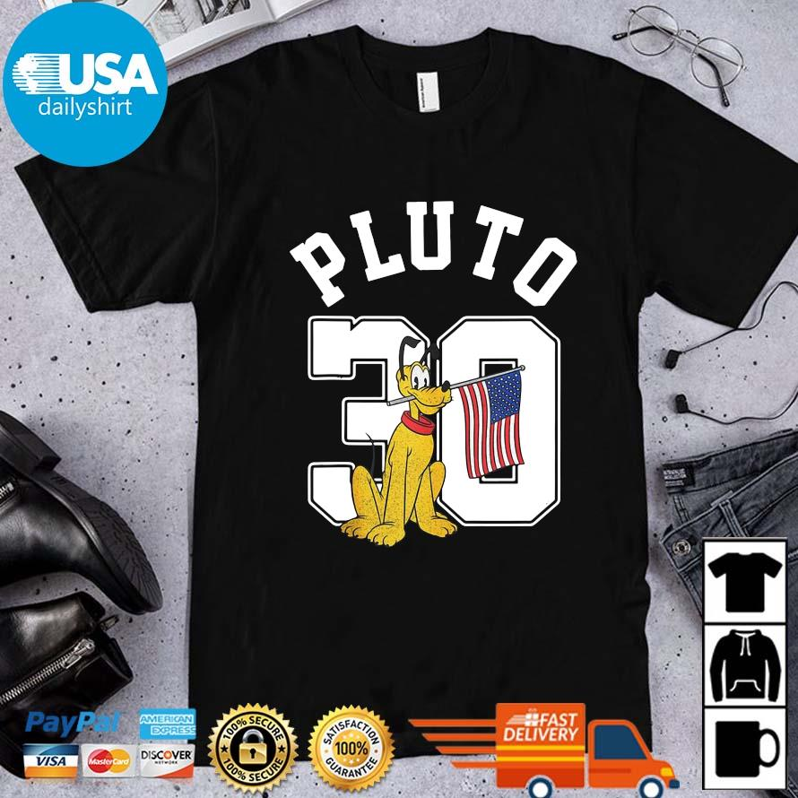 Mickey And Friends Pluto 30 Pullover 4th Of July Shirt