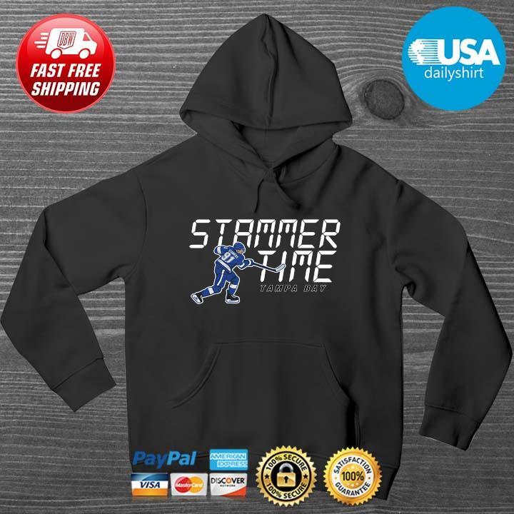 Stammer Time Steven Stamkos Tampa Bay Lightning HOODIE DENS