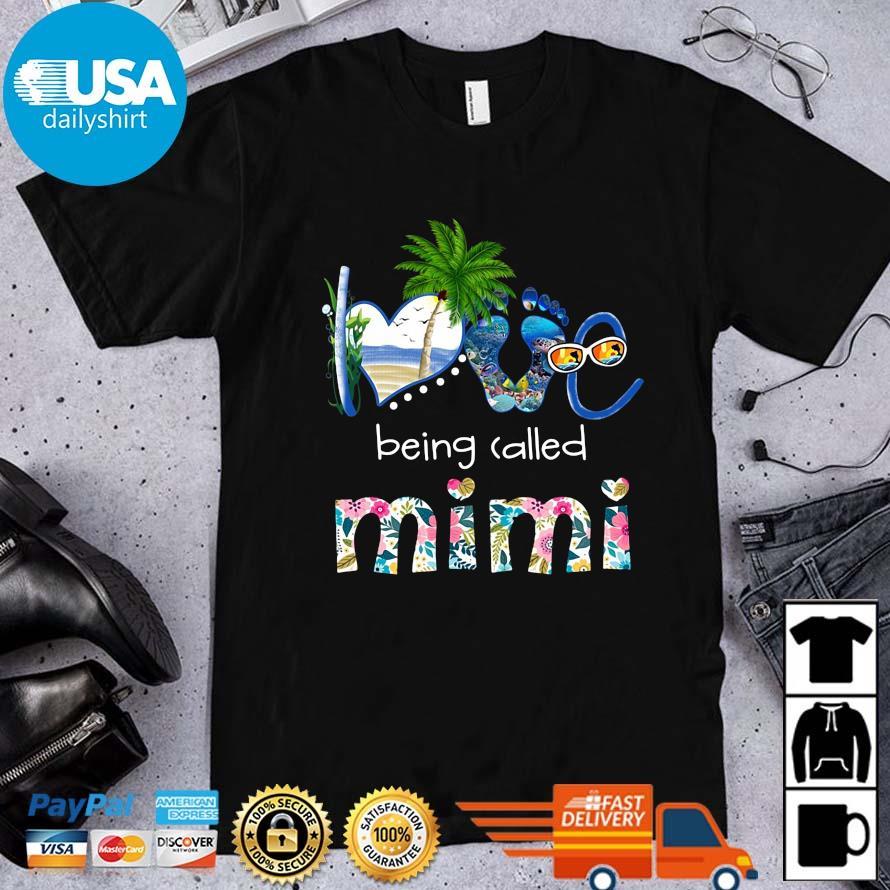 Summer love being called mimi flower shirt