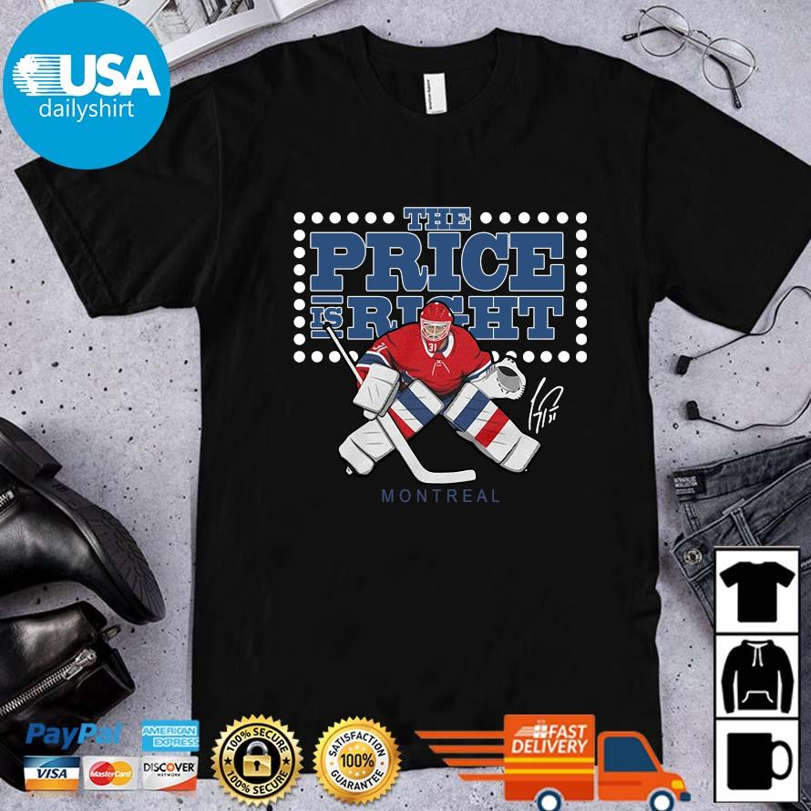 The Price Is Right Montreal Hockey Shirt