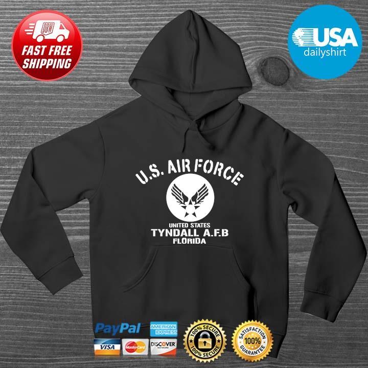 Us Air Force United States Tyndall AFB Florida Shirt HOODIE DENS
